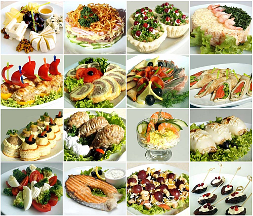 холодные закуски рецепты с фото для ресторанов
